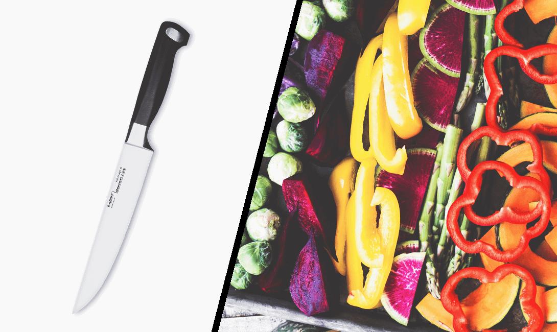 Универсальный нож для чистки, шинковки и для резки любых продуктов