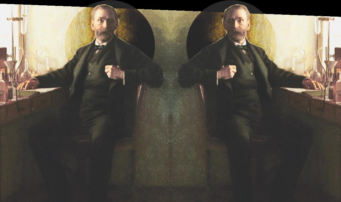 Альфред Нобель на страницах мужского журнала brodude