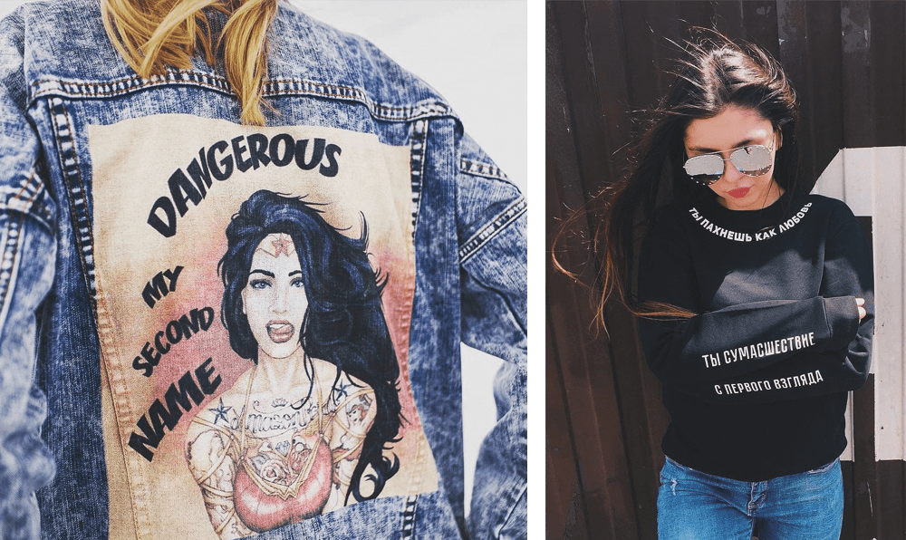 андеграундная одежда, streetwear стиль, NIKI FILINI российский бренд, фото