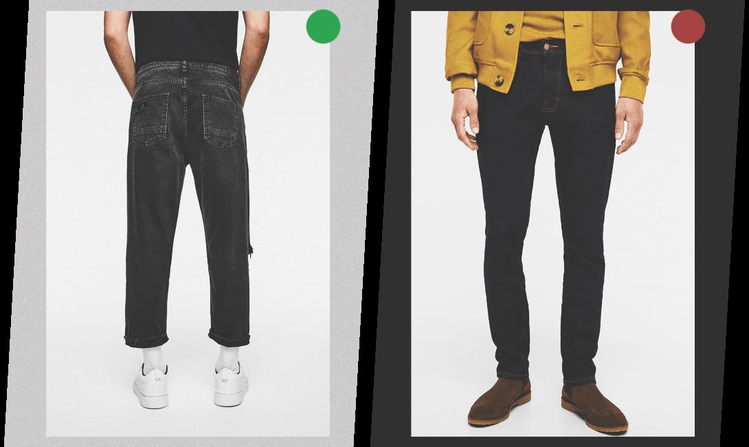 джинсы для полных мужчин, картинки