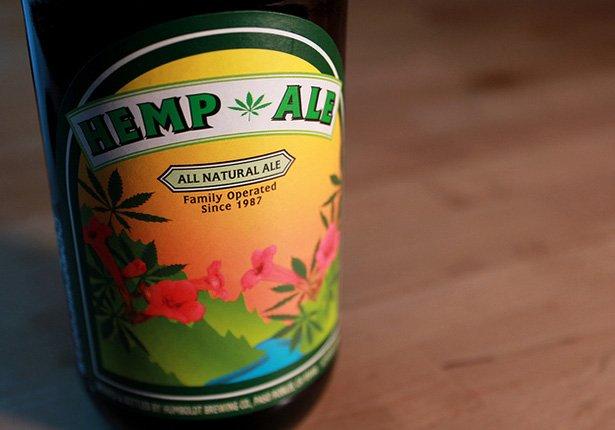 пиво с коноплей