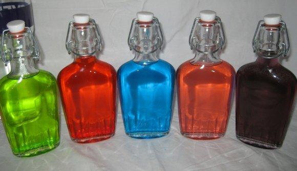 водка с леденцами