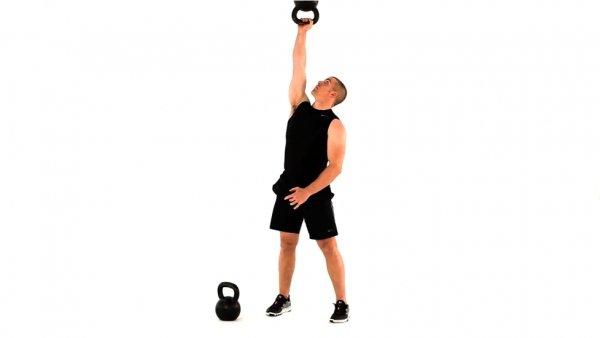 упражнение с гирями. Лучшие упражнения на плечи картинки