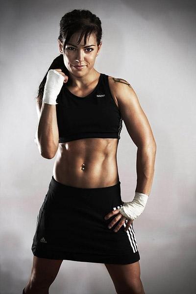 Девушки в боксе. Фото 5