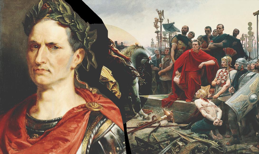 Гай Юлий Цезарь на страницах мужского журнала brodude