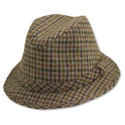 клетчатая шляпа